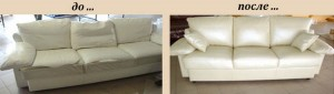 Смена заполнения дивана