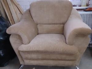 Ремонт кресла с заменой обшивки