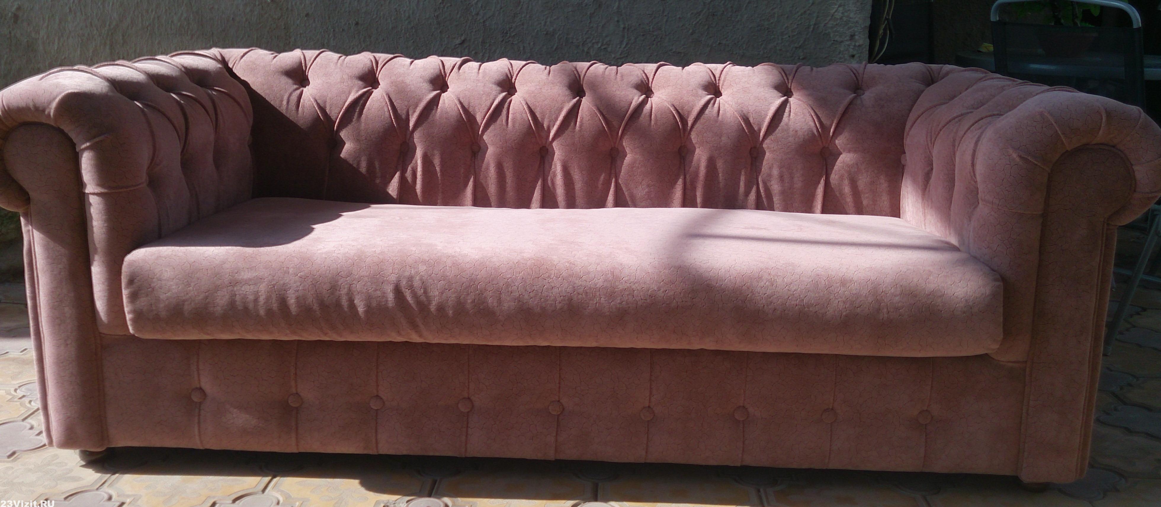 замена обшивки дивана