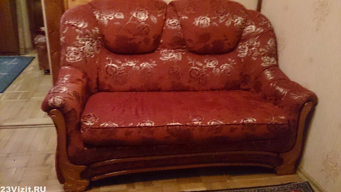 Ремонт кожаного мини дивана