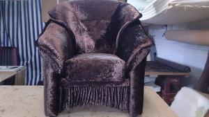Замена обшивки кресла Отрадное