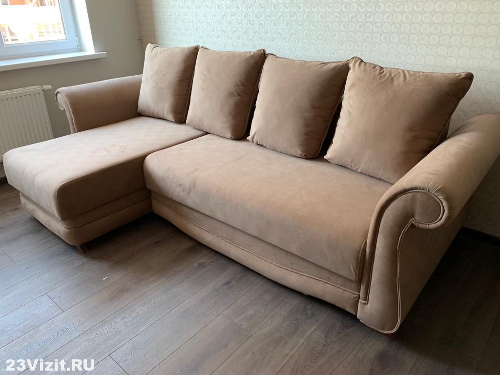 Перетяжка дивана ул. Хакурате, 22